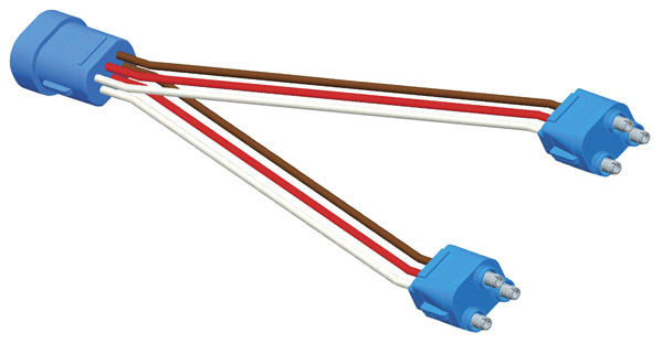 mack truck wiring pigtail grote pigtail harness 01668102 66810 mack truck wiring diagram for headlights