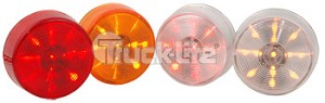 "Truck-Lite Led 2"" Round Amber-10 Diode 3050A"