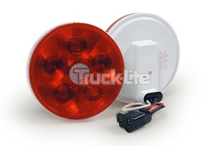 Truck-Lite Super 44 Hard Wired W/Pl-3 Led 6 Diode 44351R