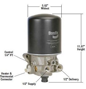 Bendix New Ad-Sp Air Dryer 800887
