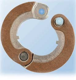 "Haldex Brake-Clutch 2"" 2-Piece BK313"