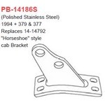 Grand Rock Polished Ss Peterbilt Unibilt Bracket PB-14186S